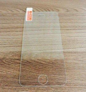 Переднее защитное стекло для iPhone 5/5s/SE