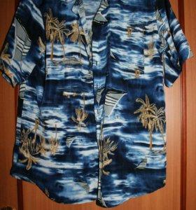 Рубашка мужская р.44-46