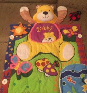 Развивающие коврики с игрушками