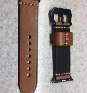 Браслет кожаный для Apple Watch