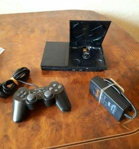 Игровая приставка Sony play station 2 slim