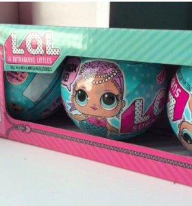 Кукла LOL SURPRISE! Набор из 3-х кукол