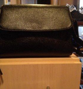 Черная сумка (носила 1 раз для фотосессии)