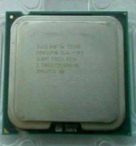 Процессор двухядерн Intel dual-core Е5200 2,5Ггц