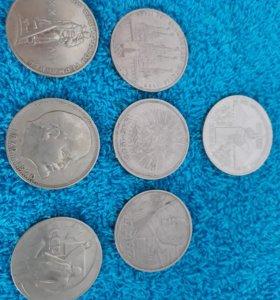 Продам монеты рубли СССР