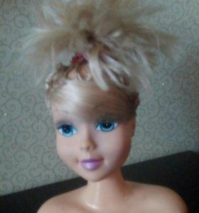 Кукла барби манекен  для причесок
