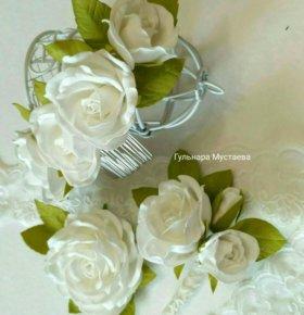 Свадебный комплект украшении
