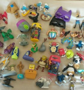 игрушки из МcDonald's Happy Meal