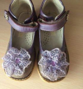 Ортопедические туфли для девочек