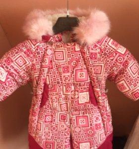 Детский комбинезон трансформер зимний очень тёплый
