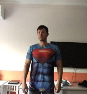Футболка рашгард superman