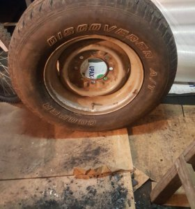 Запасное колесо на форд эконолайн