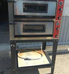 Печь для пиццы GGF E44/A с подставкой б/у