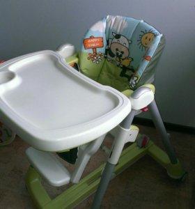 Складной стул для кормления peg perego