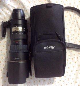 Объектив Nikon ED AF-S VR NIKKOR 70-200 mm 2.8 G