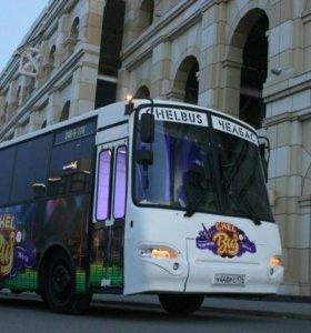 Аренда клубного Автобуса Лимузина party bus