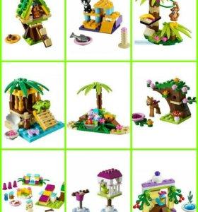 Lego friends животные