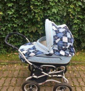 Коляска-люлька babycare с прогулочным блоком