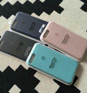 Силиконовый чехол для iPhone 6, 6+, iPhone 7, 7+