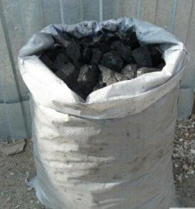 Уголь в мешках 2-5см