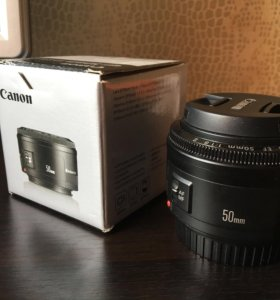 Canon EF 50mm f/1.8 ||