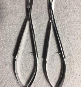 Пружинные ножницы (твизеры) для маникюра
