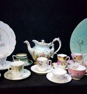 Коллекция антикварной посуды