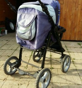 Детская коляска с поноской