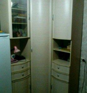 Шкаф и полка для детской фирмы Лером