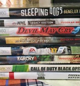 Игровые диски Xbox360
