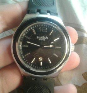 Часы swatch irony stainless steel