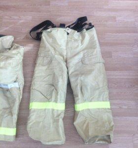 Боевая одежда пожарного.