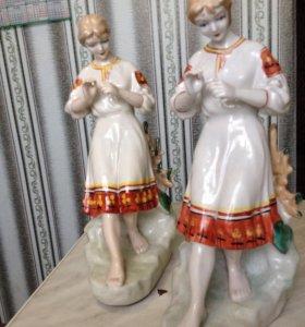 Форфоровые статуэтки