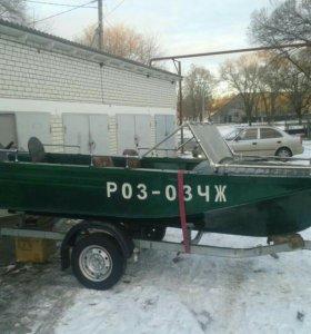 лодка, прицеп, мотор Ямаха 30