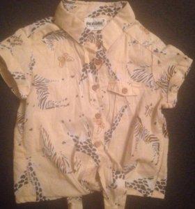 Рубашка на девочку(104)
