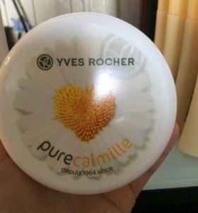 Нежный крем для лица и тела фирма Yves-rocher