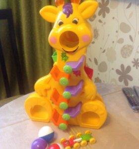 Kiddieland игрушка Веселый жирафик