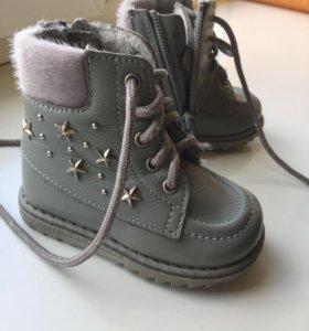 Ботинки , зима (состояние на 5)