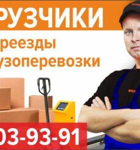 Грузчики, переезды и грузоперевозки в Казани