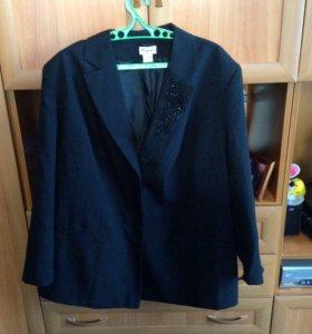 Пиджак новый женский 66 размер