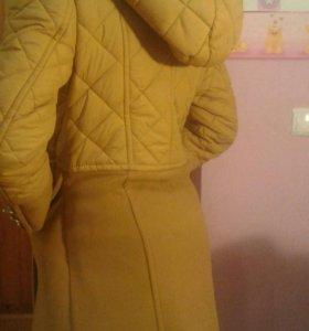 Пальто для девочки рост 146
