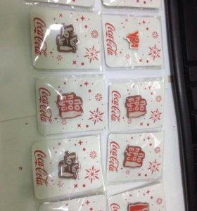 Значки Coca-Cola