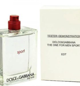 Тестер Dolce & Gabbana The One Sport