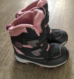 Зимние сапожки для девочки 26 размер
