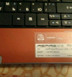 Acer.рабочий нетбук.