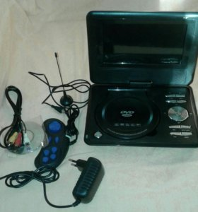 Портативный DVD -плеер с FM/TV/USB/Game...EA-7089