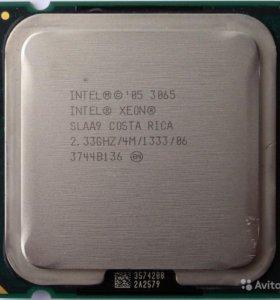 Процессор Intel Xeon 3065 - lga775