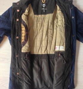 Timberland куртка вощеная (waxed)