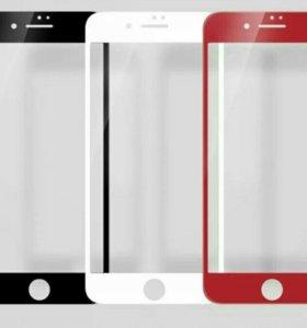 3d стекла iphone7plus