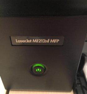 МФУ лазерный HP LaserJet M1212nf MFP